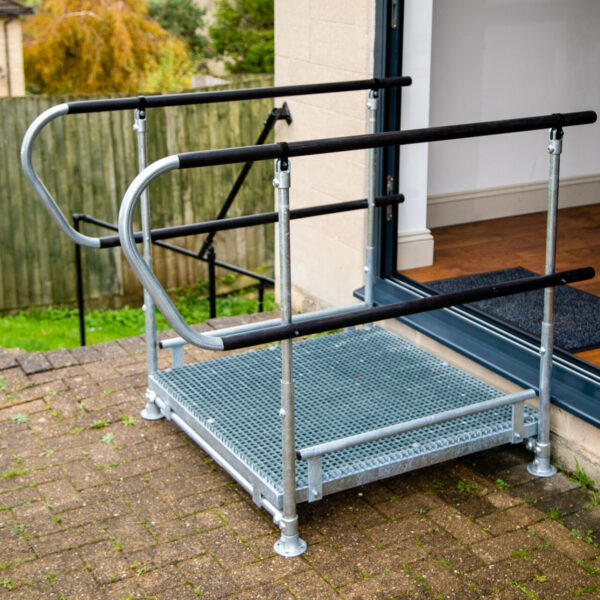 Ramps For Access Half Step